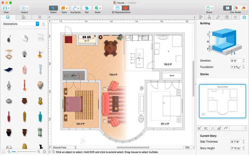 Live Home 3D 4.1.1 for Mac Free Download