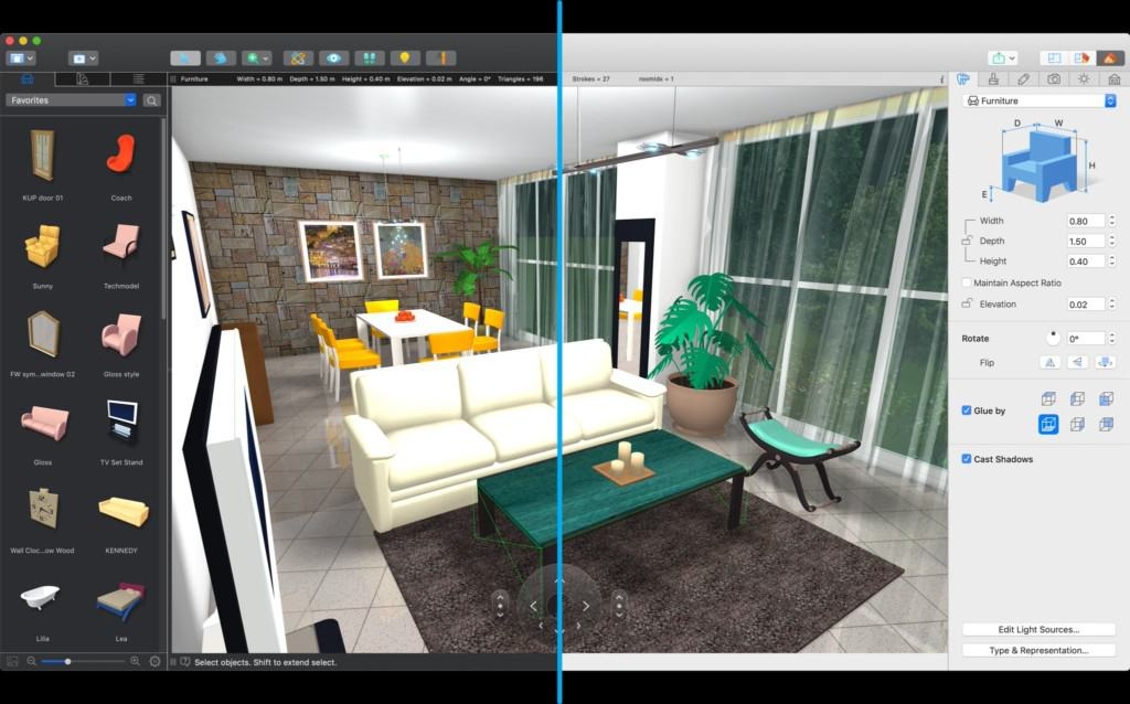 Live Home 3D 4.1.1 for macOS Free Download