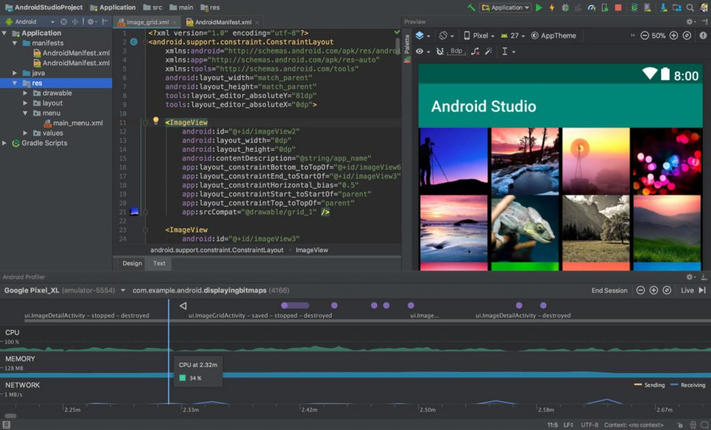 Google Android Studio 3.1 for Mac