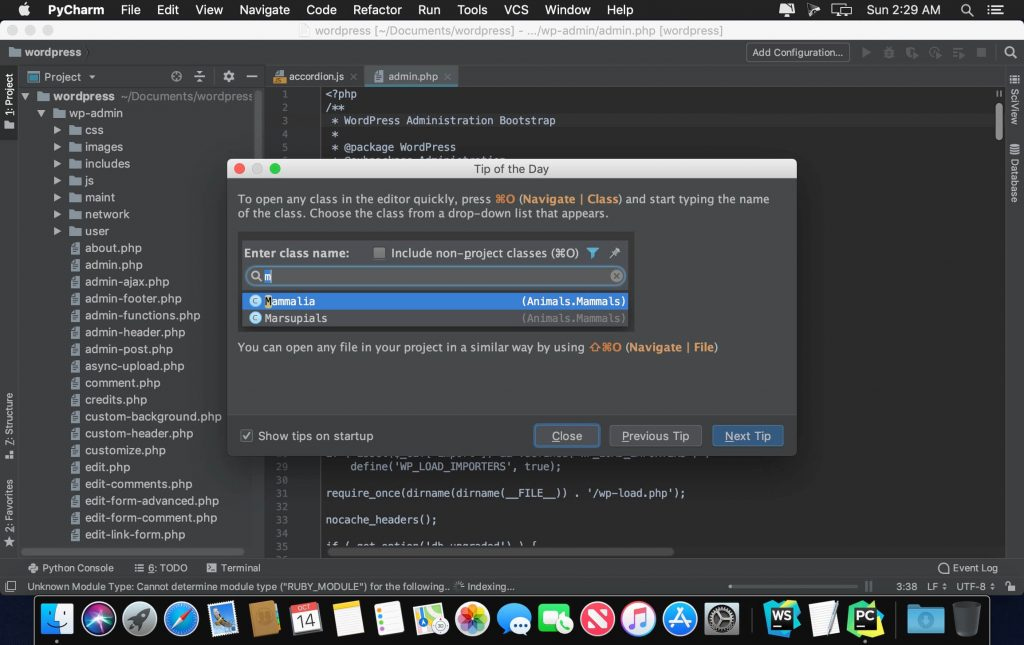 JetBrains PyCharm Professional 2018 for Mac Full Version Free Download