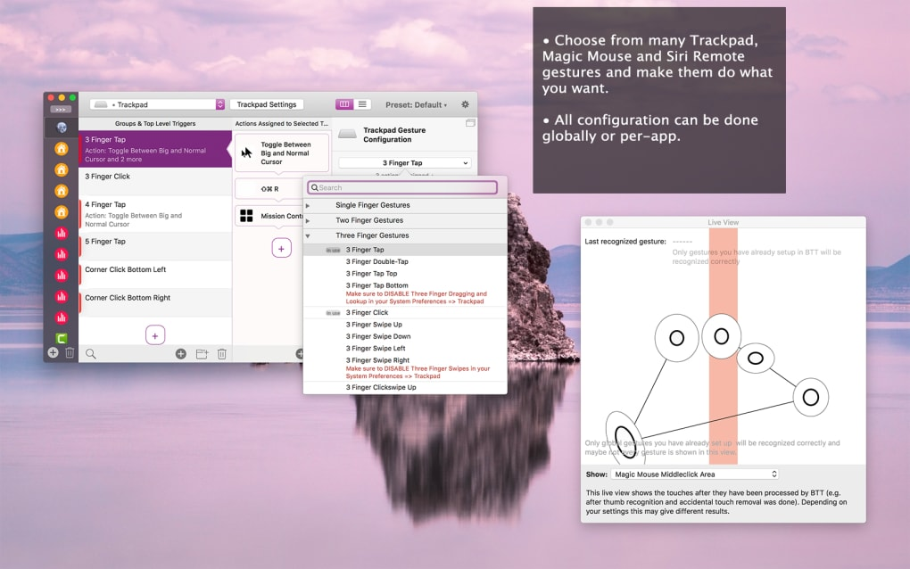 BetterTouchTool 2.6 for Mac Free Download