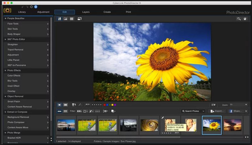 CyberLink PhotoDirector Ultra 10.0 for Mac Free Download