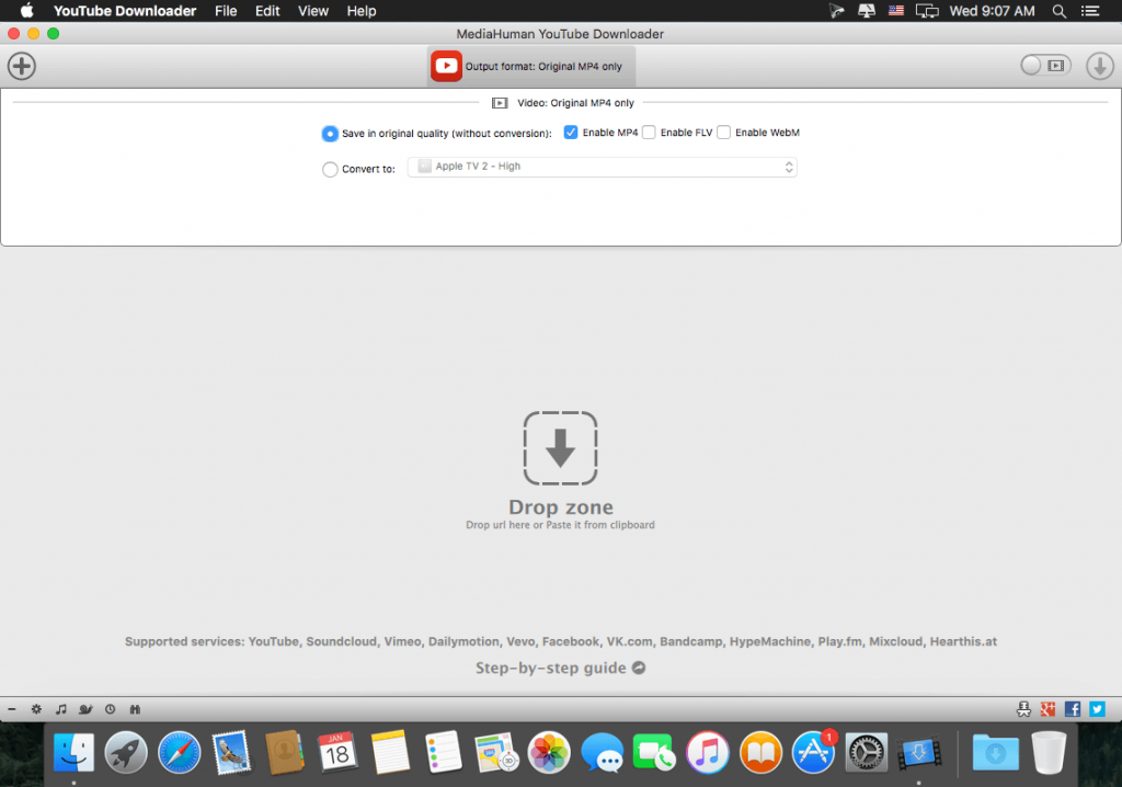 MediaHuman YouTube Downloader 3.9 for Mac Full Version Free Download