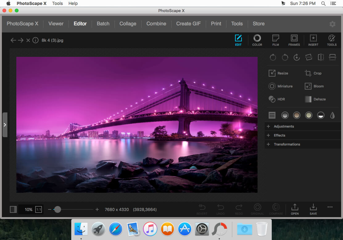 PhotoScape X Pro 4.0.1 for Mac Free Download