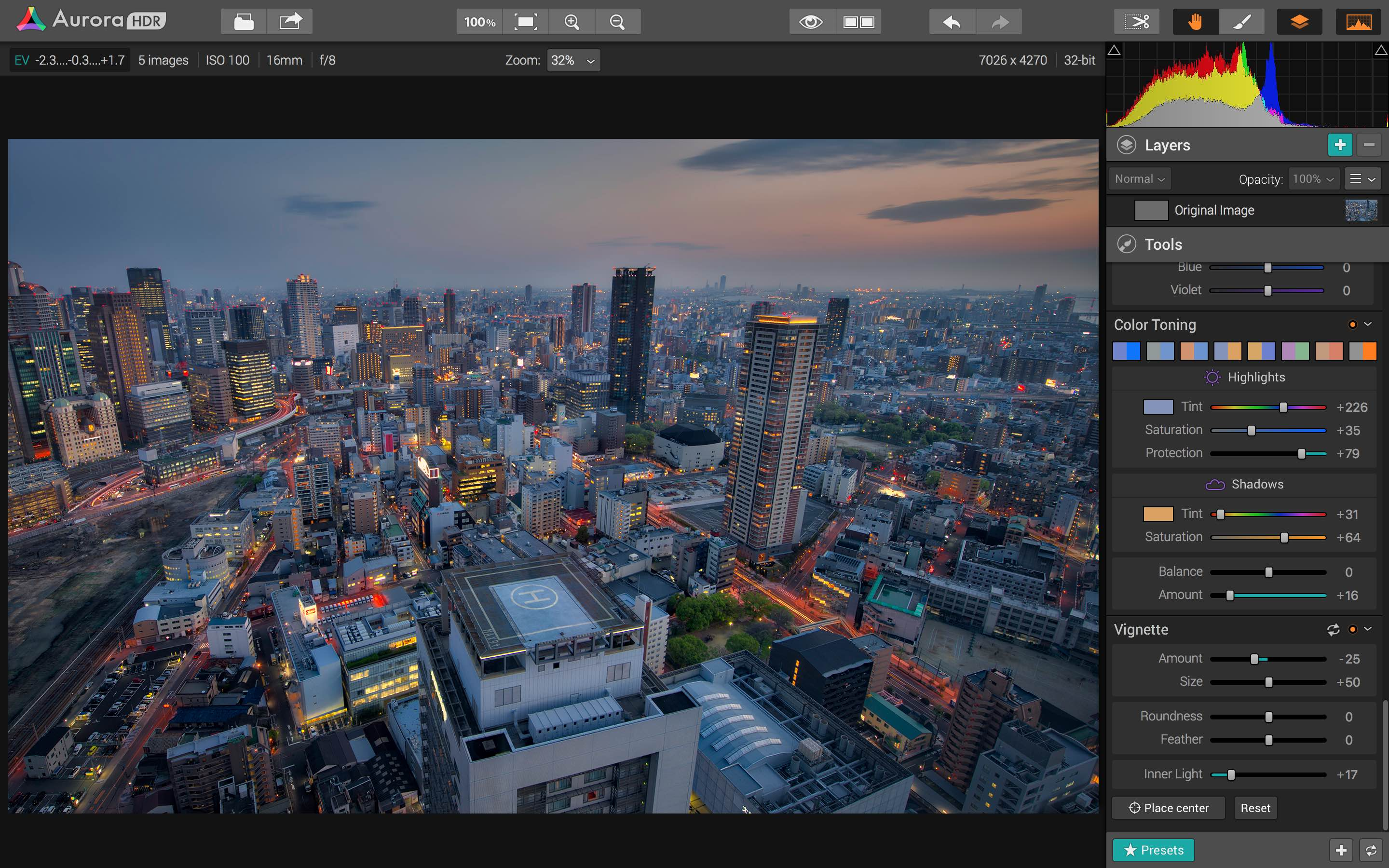 Aurora HDR 2019.1 for Mac Free Download