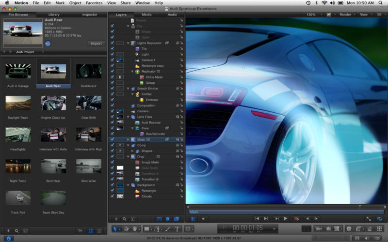 Motion 5.5 for macOS Free Download