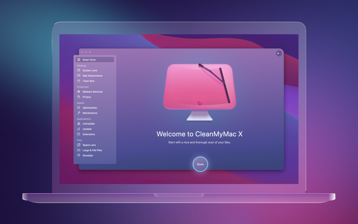 CleanMyMac X 4.6.12 Free Download