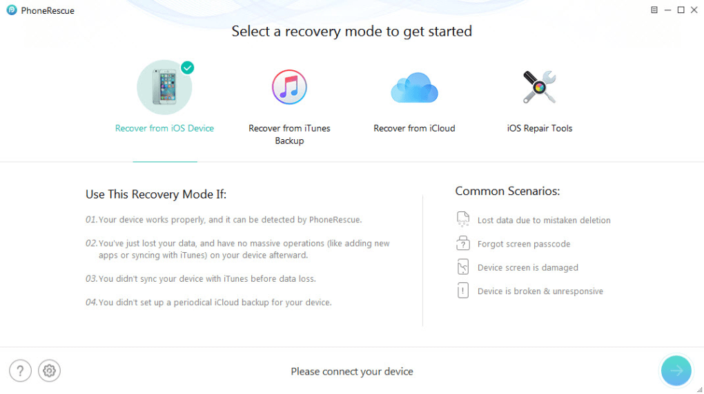 PhoneRescue for iOS Free Download