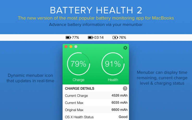 Battery Health 3 for Mac Free Download