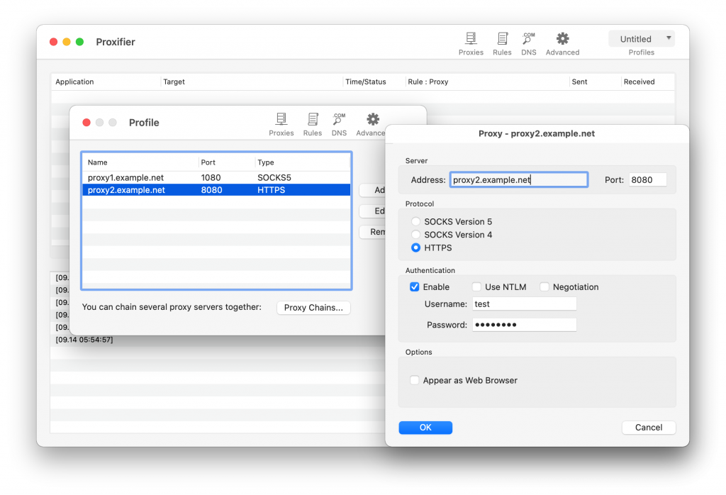 Proxifier 2 for Mac Full Version Free Download