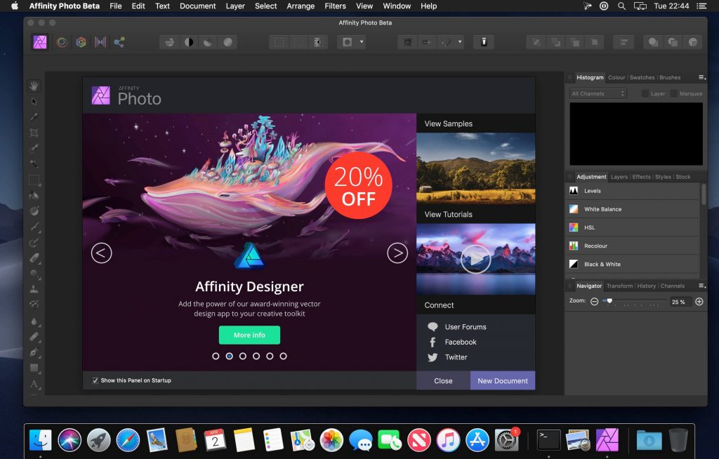 Affinity Photo 1.9 for Mac Free Download