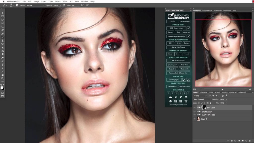 Beauty Retouch Panel 3.2 Free Download