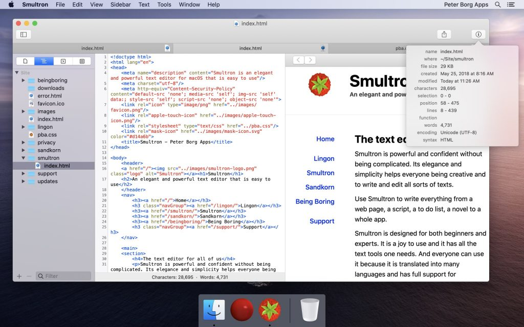 Smultron 12 for Mac Full Version Download