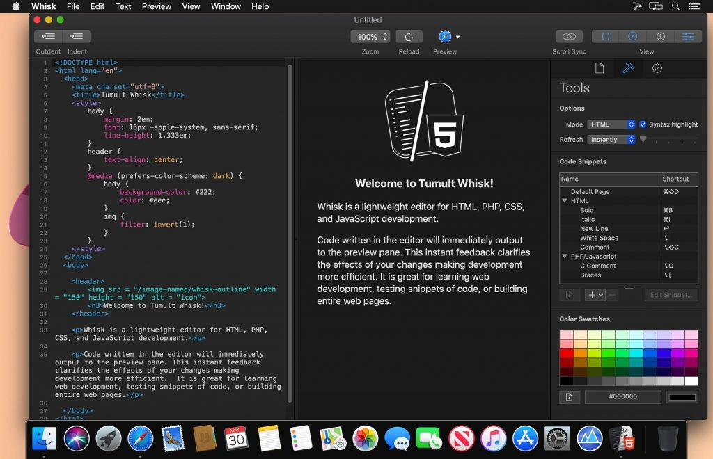 Whisk 2.5 for Mac Free Download
