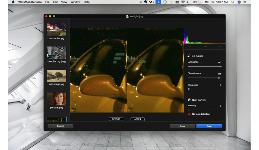 WidsMob Denoise 2 for Mac Free Download
