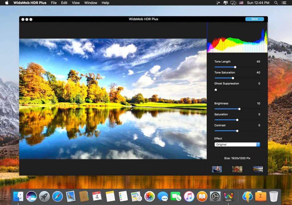 WidsMob HDR 2 for Mac Free Download