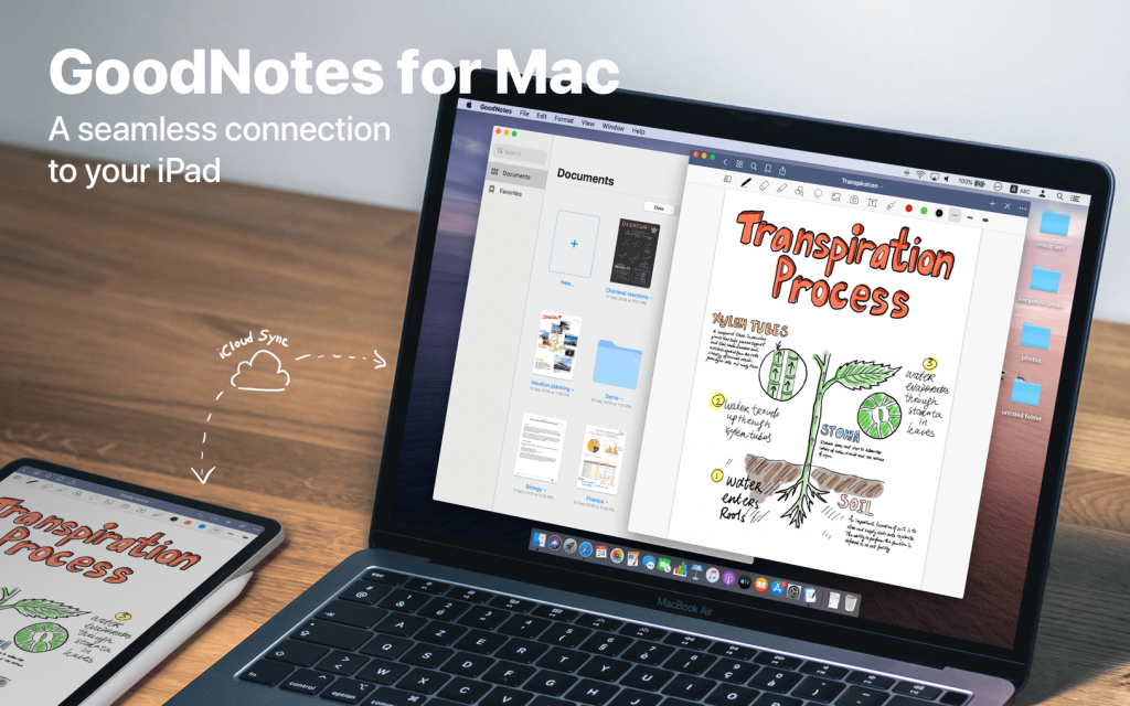 GoodNotes 5.7.24 for Mac Free Download