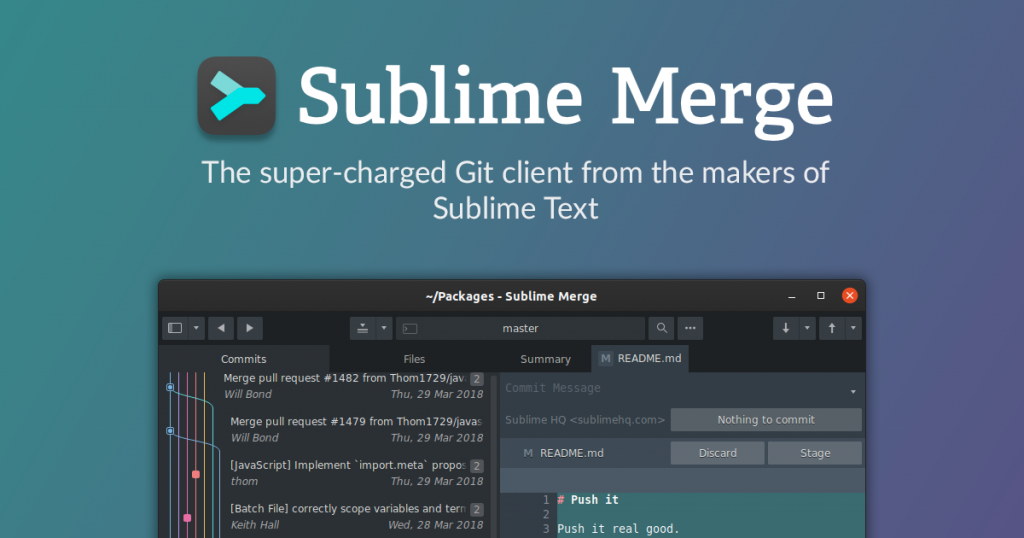 Sublime Merge 2 for Mac DMG Free Download