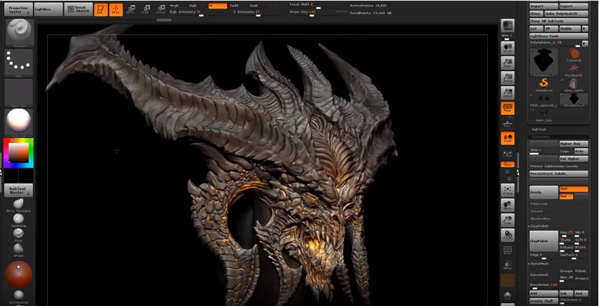 Pixologic Zbrush 2021 for macOS Free Download