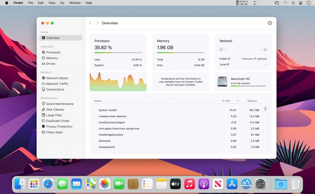 System Toolkit 4 for Mac Free Download