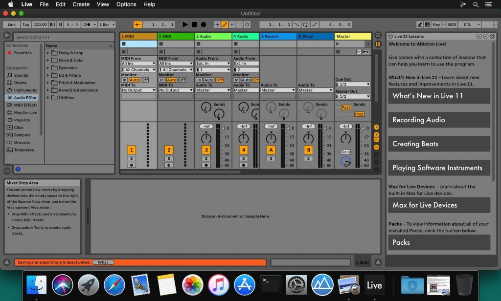 Ableton Live 11 Suite for Mac Free Download