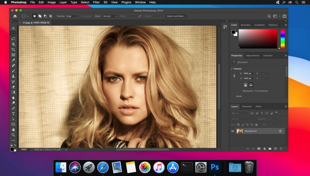 Adobe Photoshop 2021 + Neural Filters for Mac Free Download