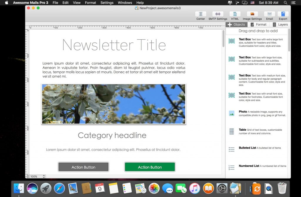Awesome Mails Pro 4 for Mac Free Download
