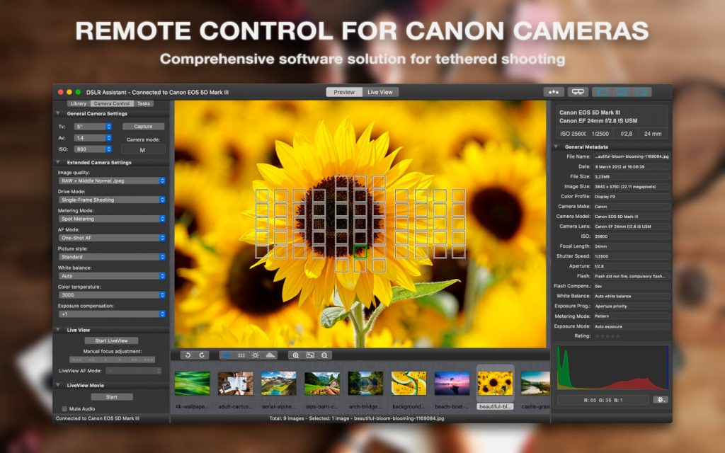 DSLR Assistant for Mac Free Download