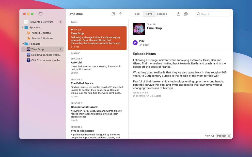 Feeder for Mac Free Download