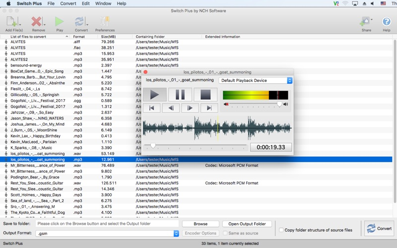 NCH Switch Plus 9 for Mac Free Download