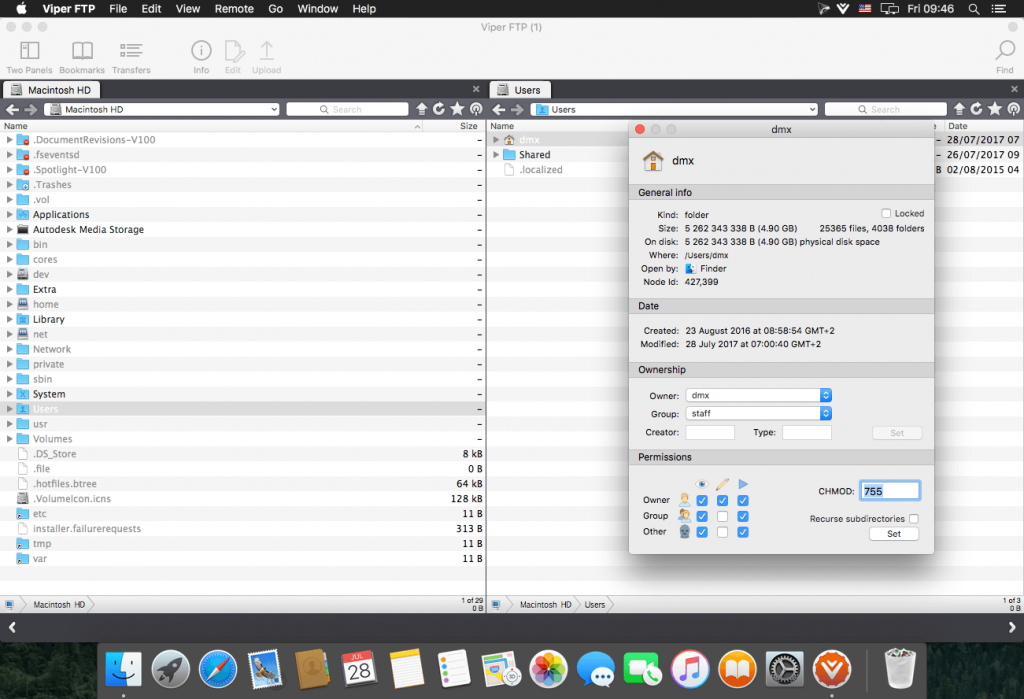 Viper FTP 5 for Mac Free Download