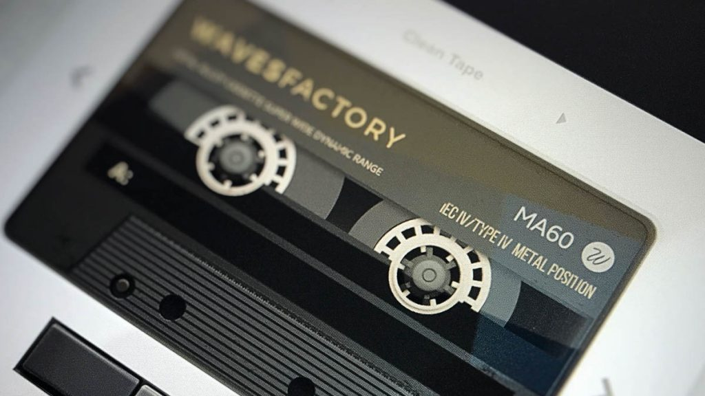 Wavesfactory Cassette for Mac Full Version Download