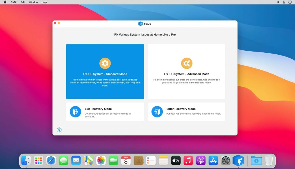 iToolab FixGo for Mac Free Download